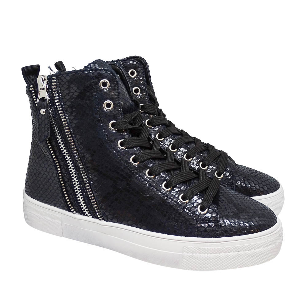 Sneakers Stivaletto Cocco Nero