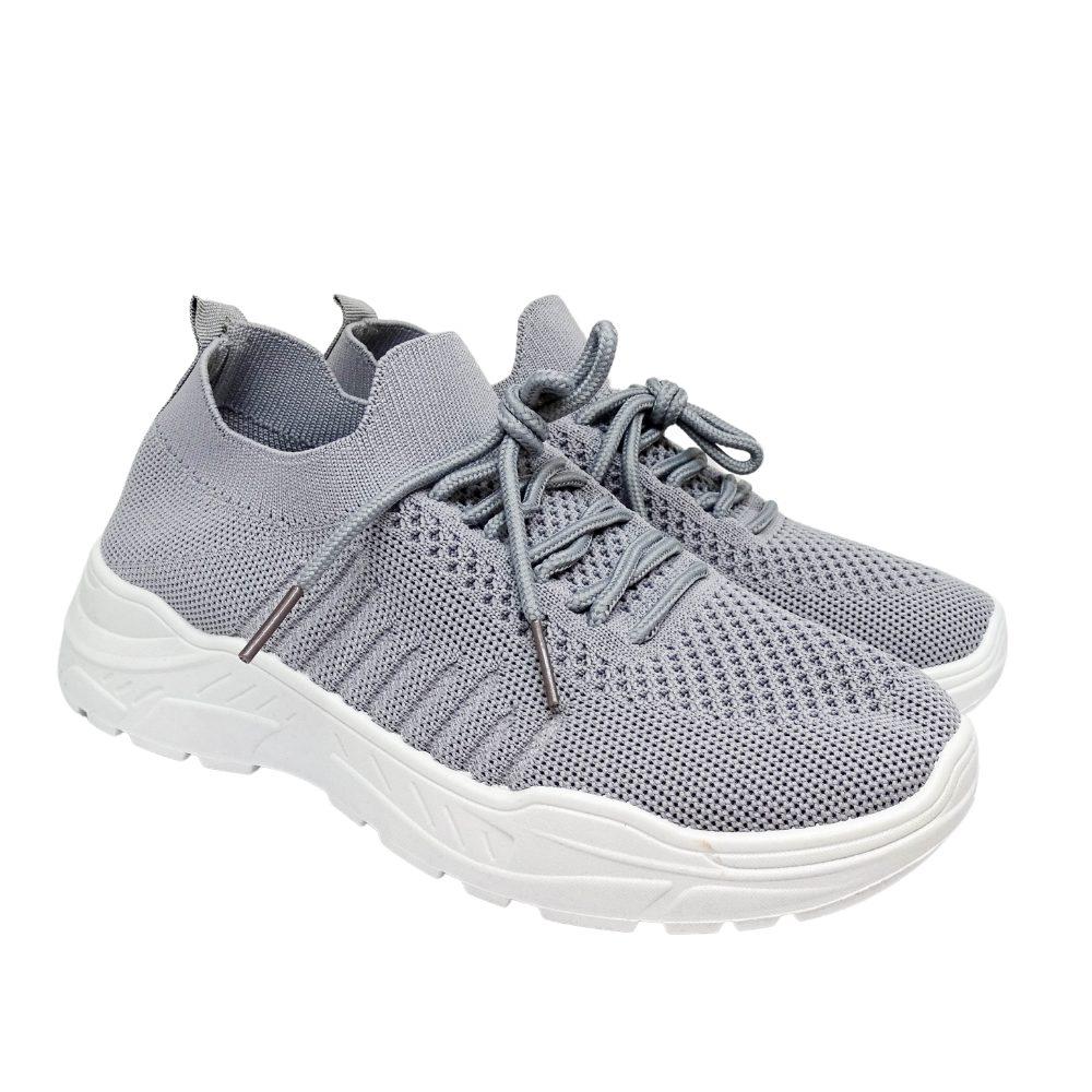 Sneakers Tessuto Lacci
