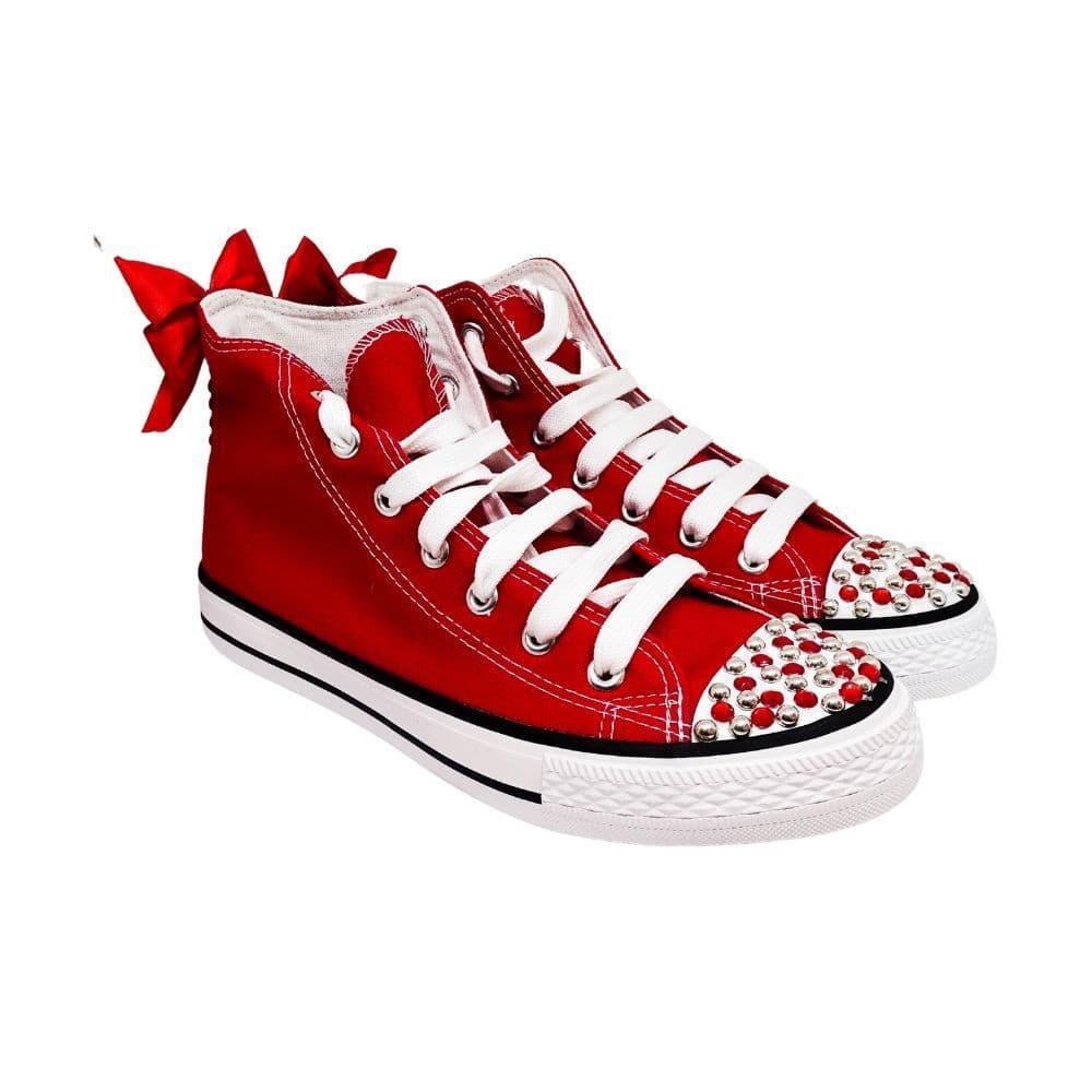 Sneakers Alte Tela Borchie