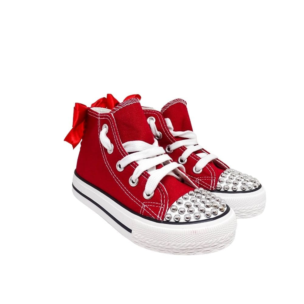 Sneakers Alte Bimba Tela Rossa