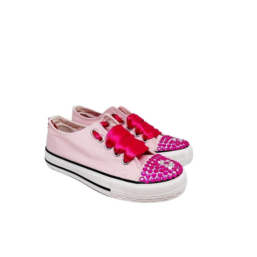 Sneakers Rosa Bimba Strass