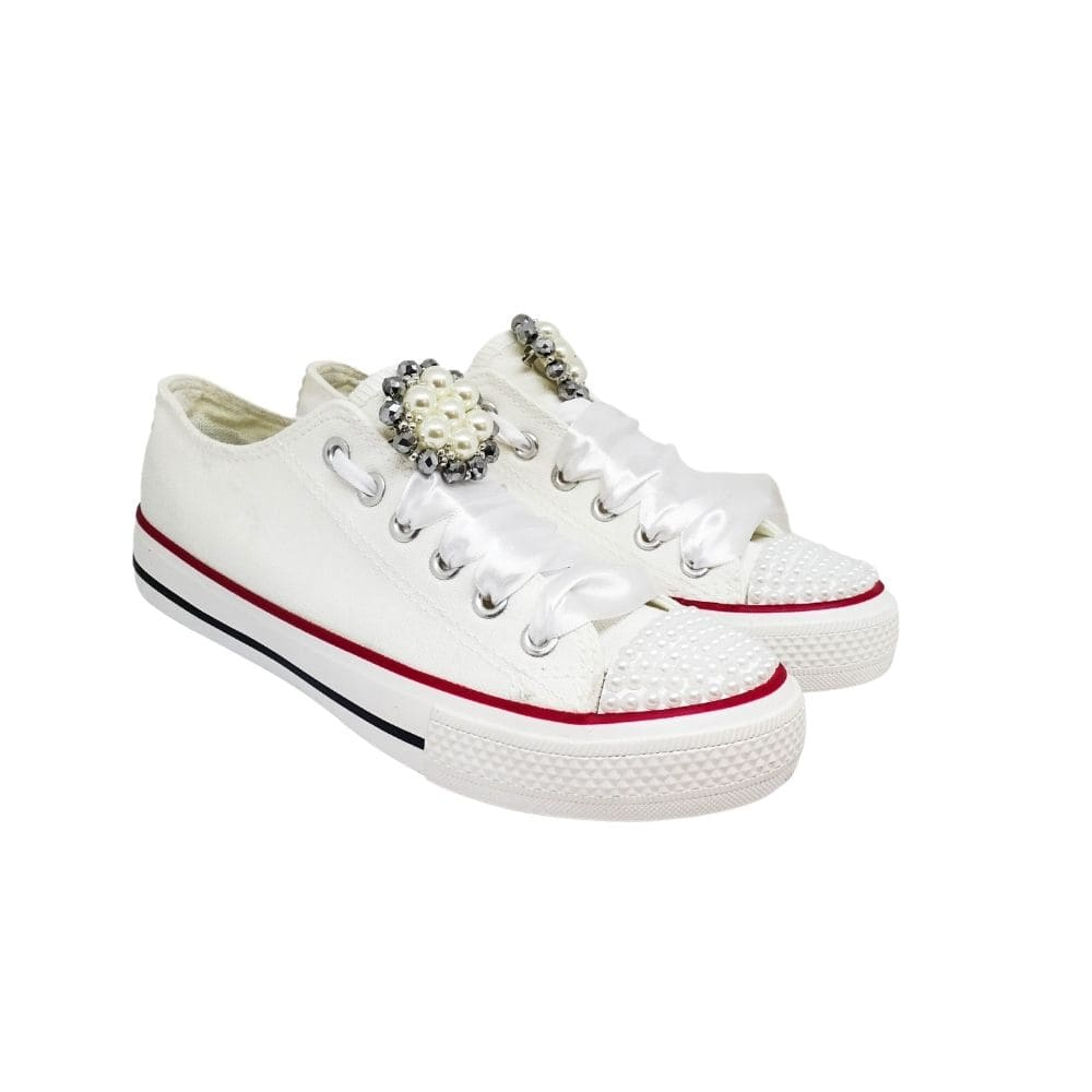 Sneakers Tela Perle