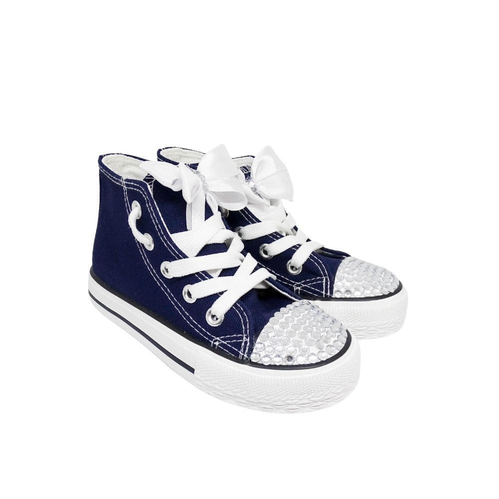 Sneakers Fiocco Strass