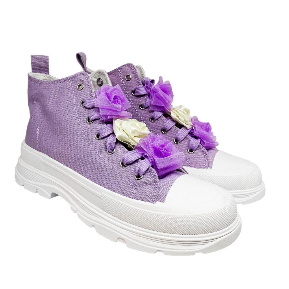 Sneakers Alte Tre Rose