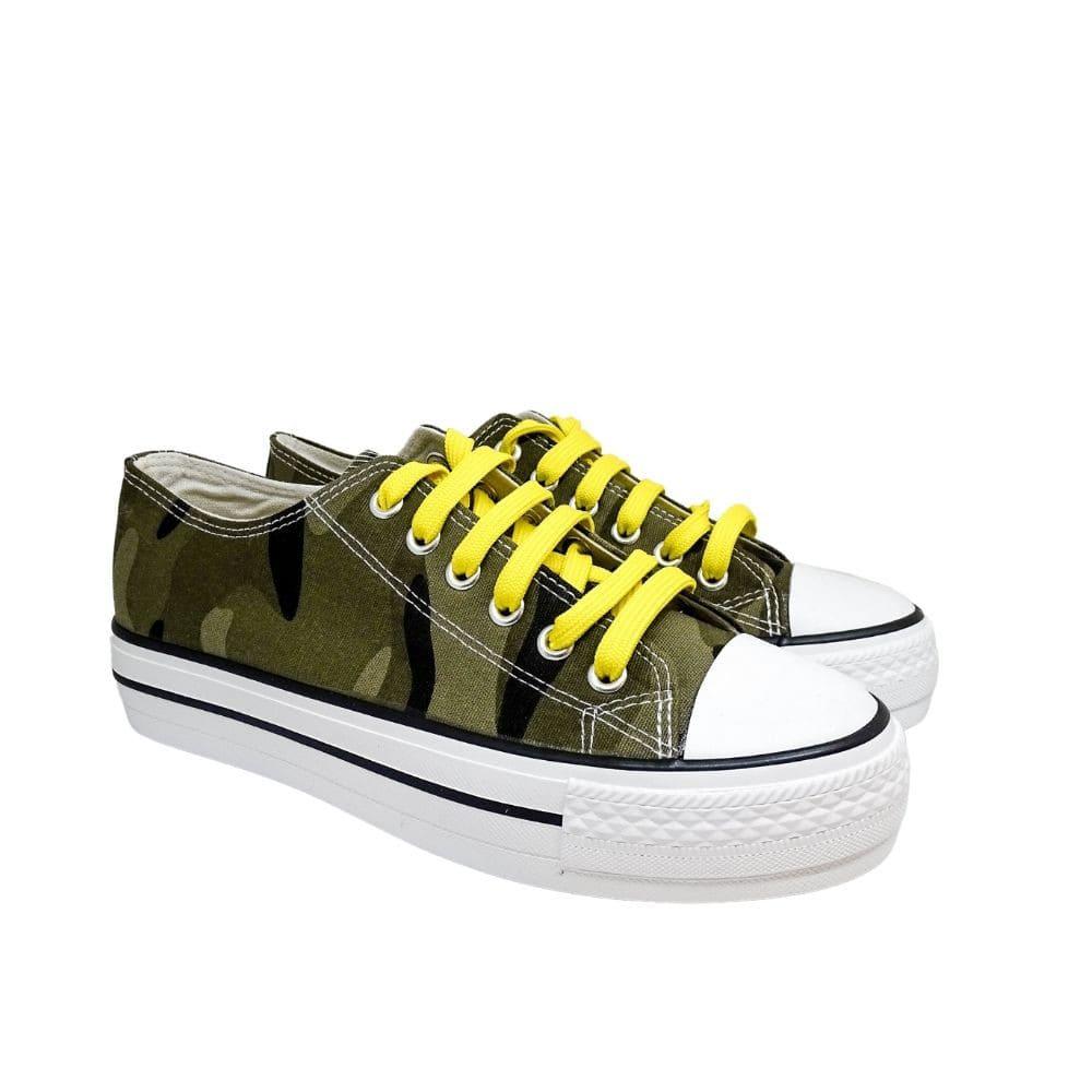 Sneakers Tela Militare