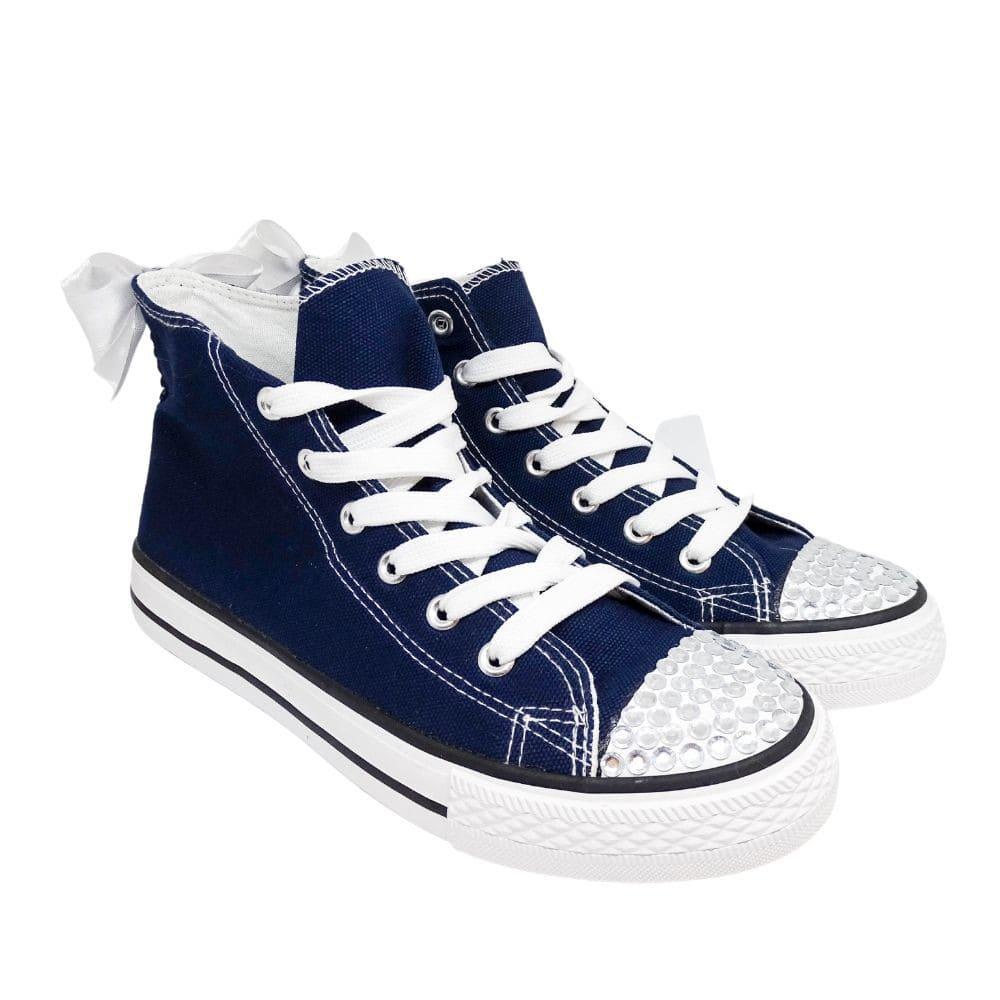 Sneakers Alte Tela Fiocco