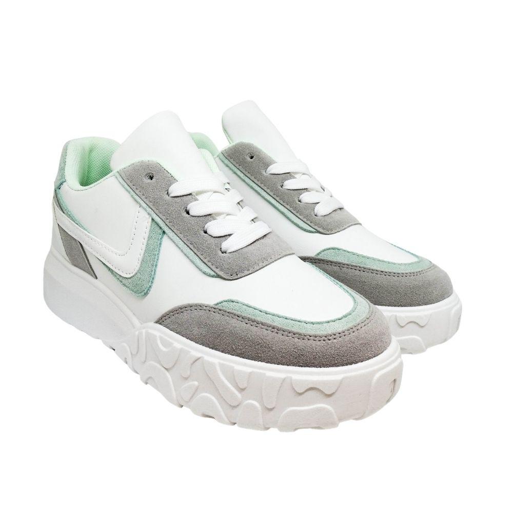 Sneakers Platform Bicolore
