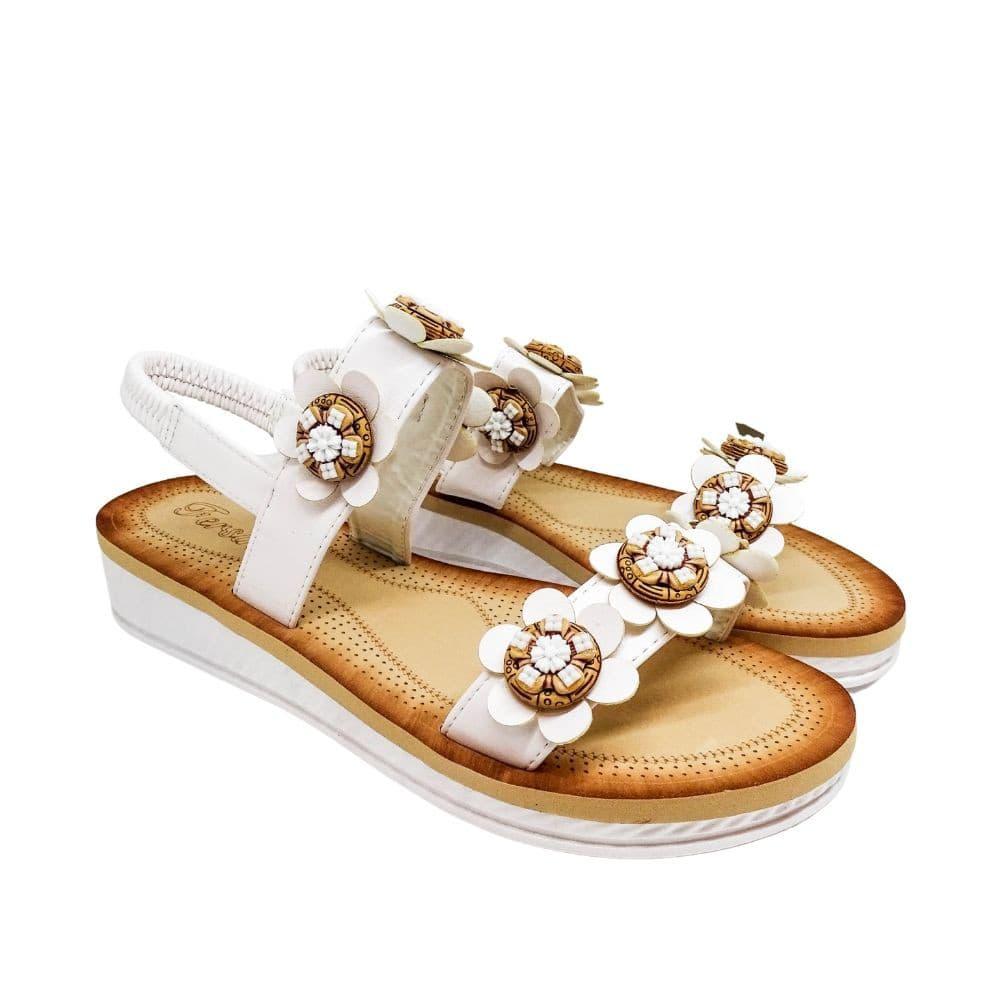 Sandalo Bianco Fiori