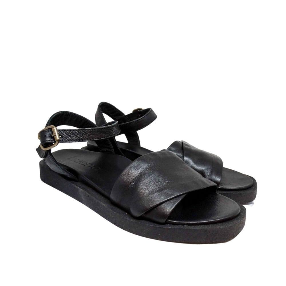 Sandalo Nero Fasce