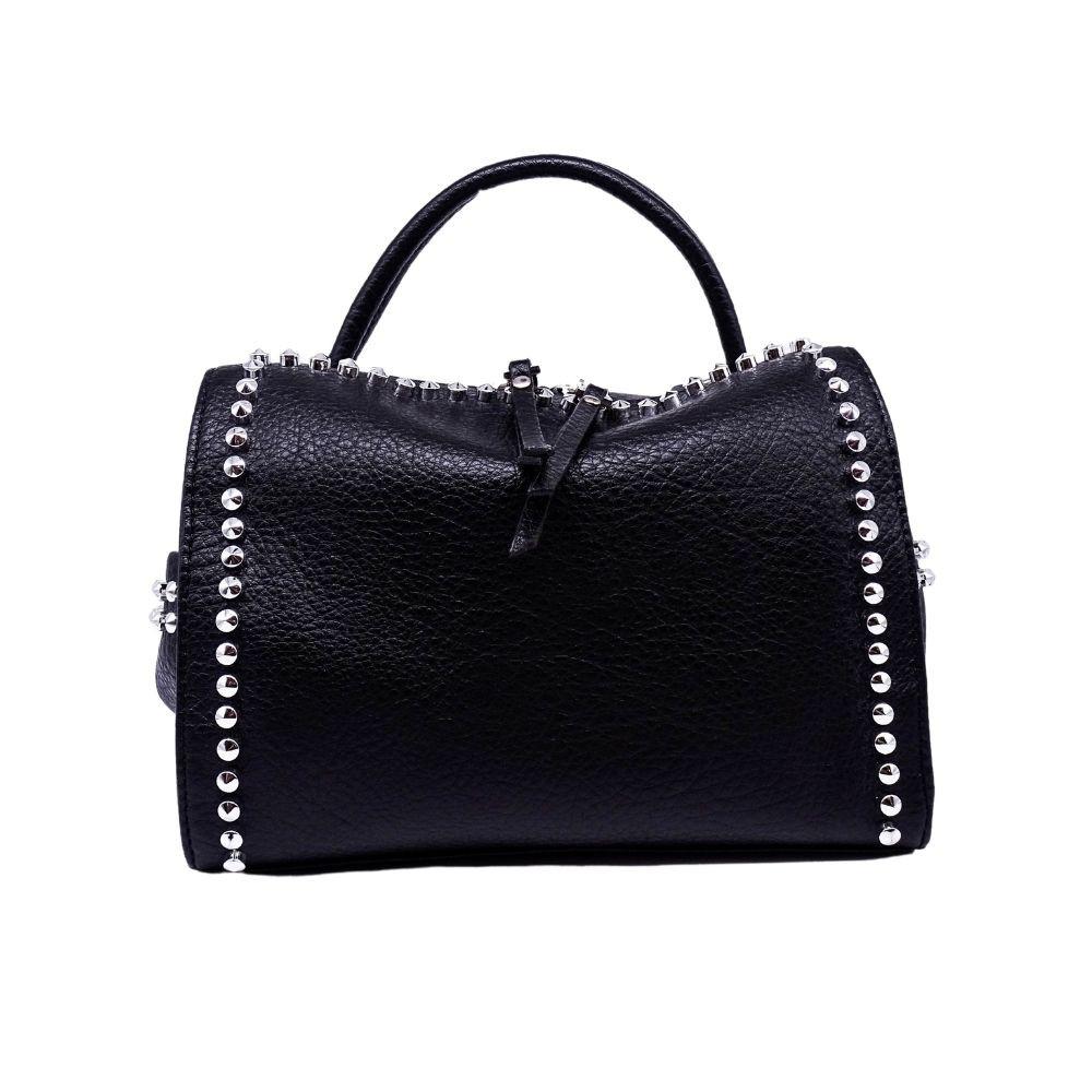 Mini Bag Nera Borchie