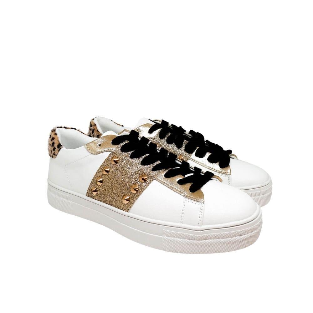 Sneakers Glitter Tallone Maculato